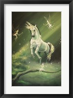 Framed Unicorn Dances