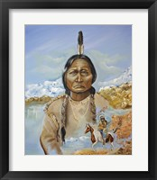 Framed Sitting Bull