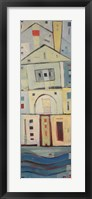 Rowhouse 3 Framed Print