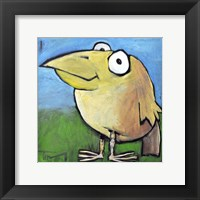 Bird Poster Framed Print
