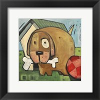 Dog Poster 2 Framed Print