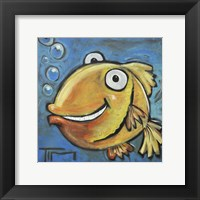 Fish Poster Framed Print