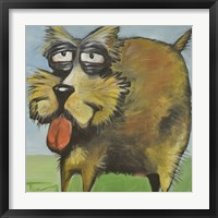 Murphy Stout Dog Framed Print