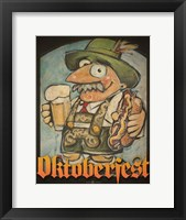 Framed Oktoberfest Guy