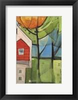 Framed House In Trees