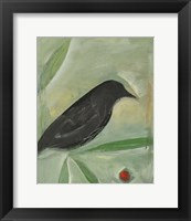 Bird And Berry 1 Framed Print