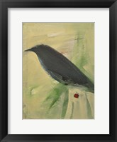 Bird And Berry 2 Framed Print