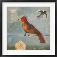 Birds Know 4 Framed Print