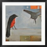Birds Know 5 Framed Print