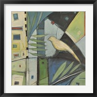 Yellow Bird 2 Framed Print