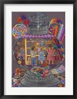 Framed Sweeties (Candy Jar)