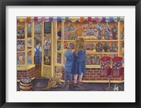 Framed Lollipop Candy Shop