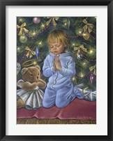 Framed Christmas Prayer