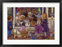 Framed Pets To Love