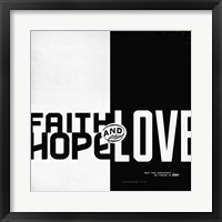 Framed Faith, Hope, Love II