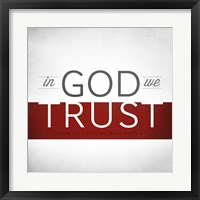 Framed In God We Trust I