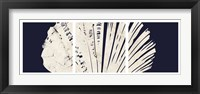 Contemporary Coastal Triptych 3 Framed Print