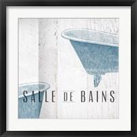 Salle de Bains I Framed Print