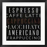 Coffee Kitchen I Framed Print