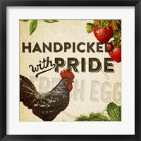 Handpicked With Pride I Framed Print