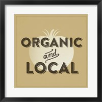 Organic And Local II Framed Print
