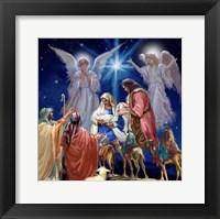 Framed Nativity Collage 1