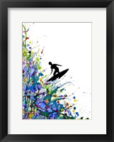 Framed Pollock's Point Break