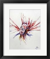 Framed Pterois