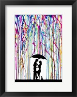 Two Step Framed Print