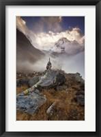 Framed Annapurna South
