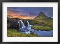 Framed Kirkjufell