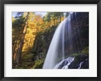 Framed Silver Falls