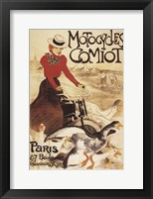 Framed Motocyles Comiot
