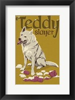 Teddy Slayer Framed Print