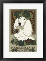 Poodle Estates Winery Framed Print