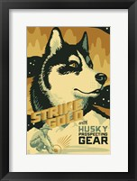 Strike Gold Framed Print