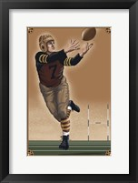 Framed Vintage Football 2