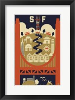 San Francisco 3 Framed Print