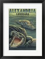 Framed Alexandria Lousiana