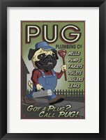 Framed Pug Plumbing Co.