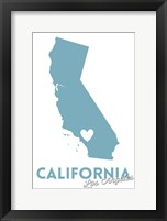 California - LA Framed Print