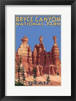 Bryce Canyon - Summer Framed Print