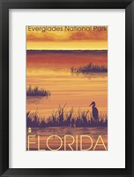 Everglades 1 Framed Print