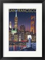 San Francisco Night Framed Print