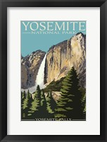 Framed Yosemite 1