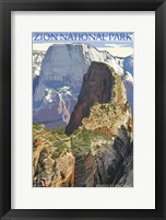Framed Zion National Park 1