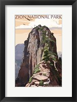 Zion National Park 3 Framed Print