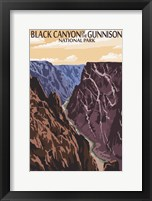 Black Canyon Framed Print