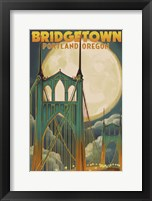Bridgetown OR Framed Print