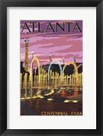 Framed Atlanta GA